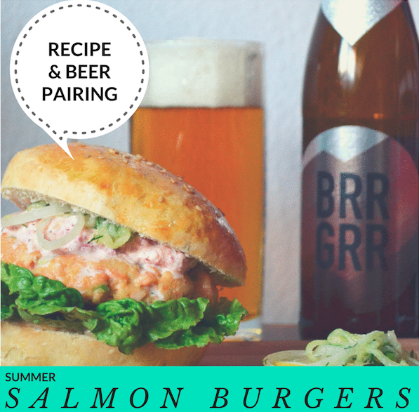 Recipe & Pairing | Summer Salmon Burgers