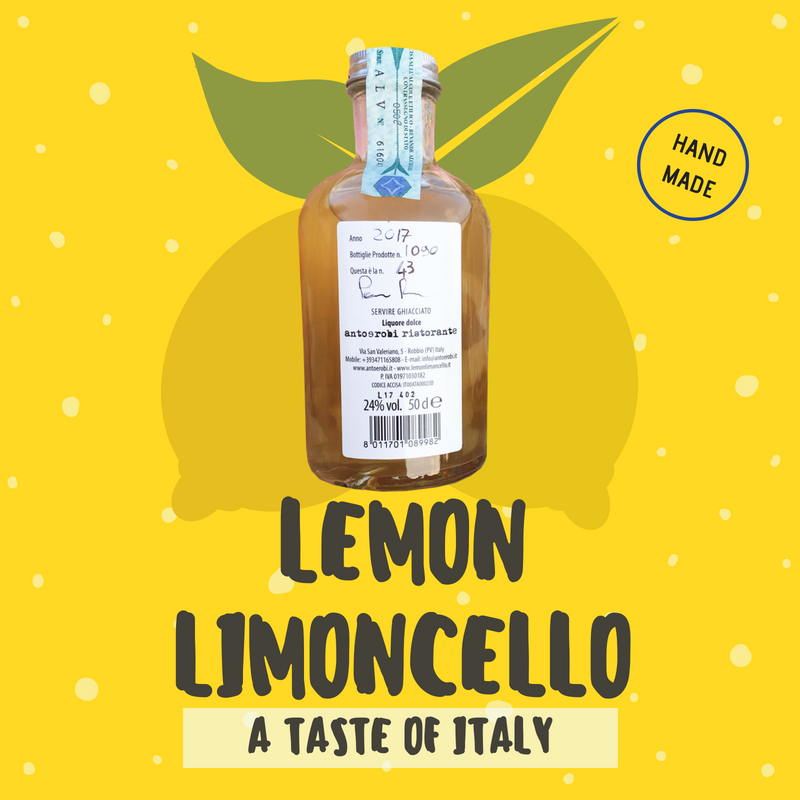 Lemon Limoncello!